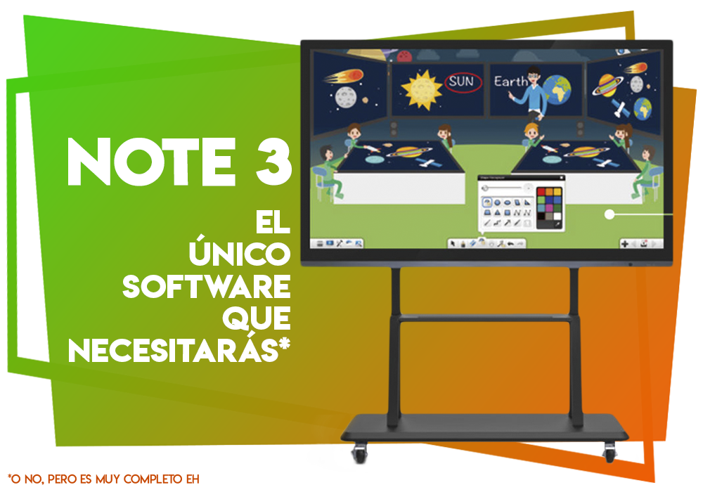 Software de Educación Note 3
